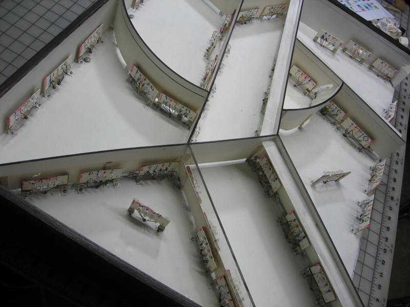 Platform - interior structure.