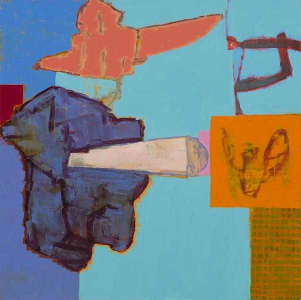 Birdwatcher, 2016, Oil On Panel, 20 x 20