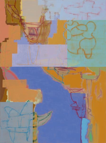 "Delta 2017 48""x36"" Oil On Canvas"