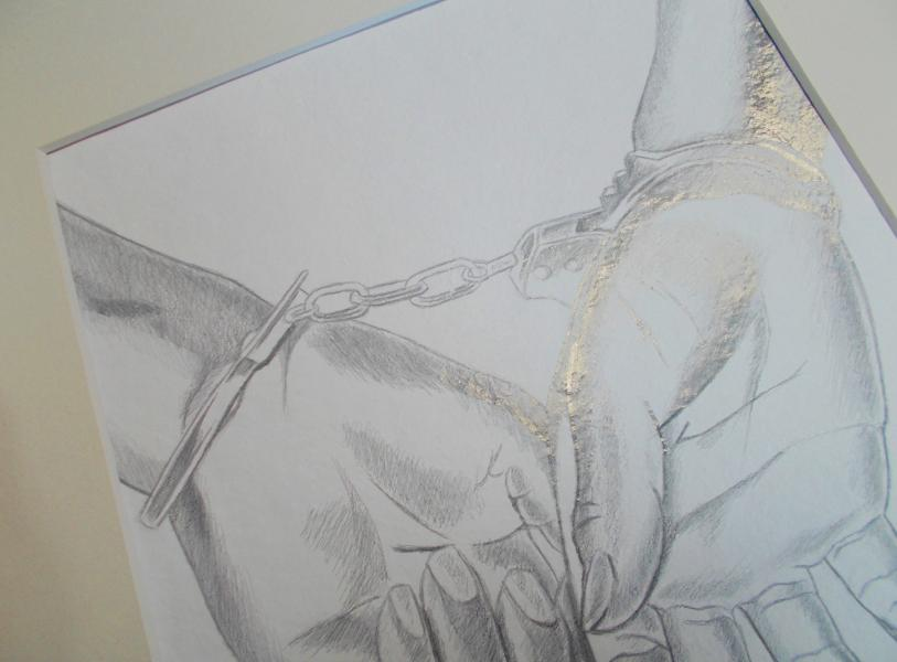 Contemporary drawing, contemporary art, metalpoint drawing
