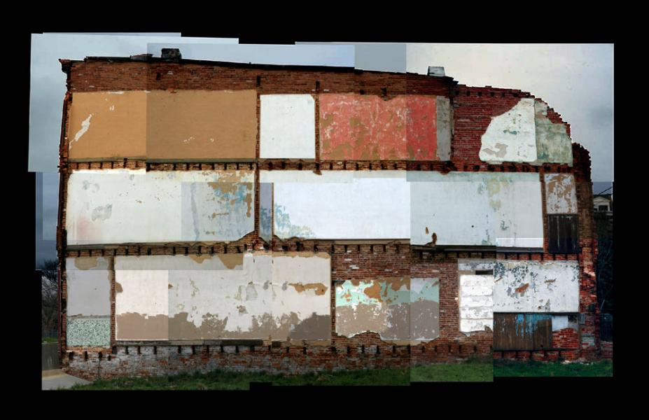 DS Mangus: Baltimore Wall, 2015
