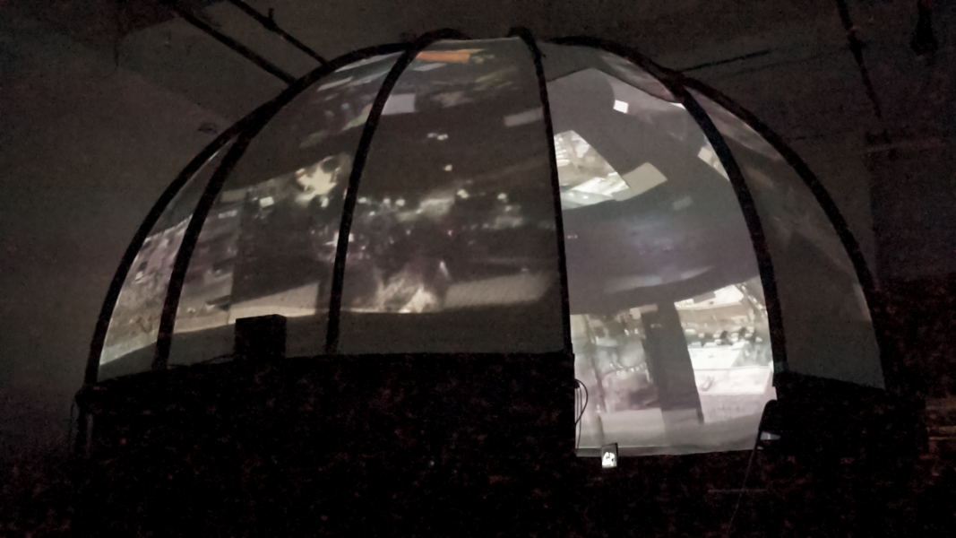 rear projection